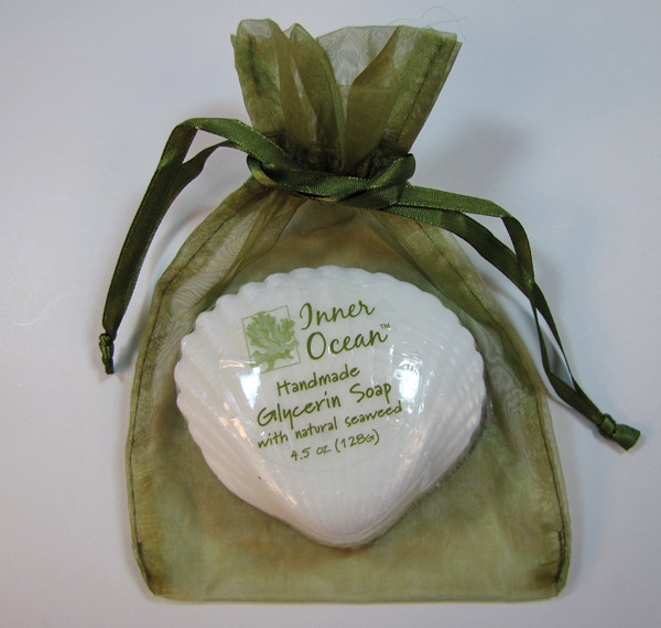 Scallop Shell Seaweed Soap