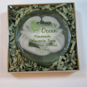 Round Crab Soap in Box by Inner Ocean