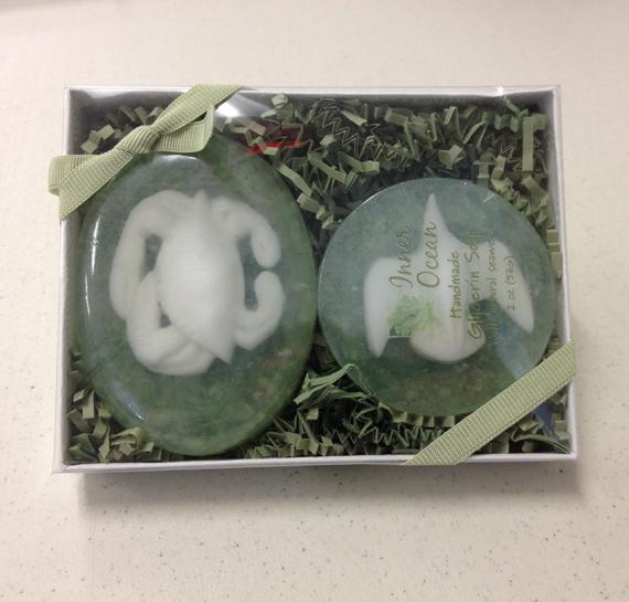 Inner Ocean Seaweed soap