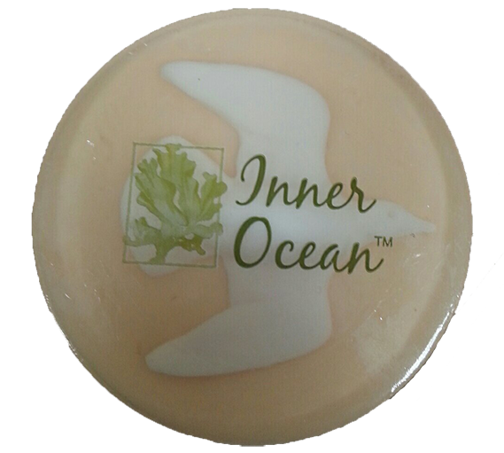 peach soap, decorative beach soap, beach soap, bathroom soap, gift, seaweed soap