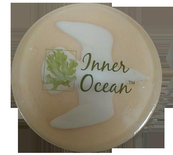 peach soap, decorative beach soap, beach soap, bathroom soap, gift, seaweed soap